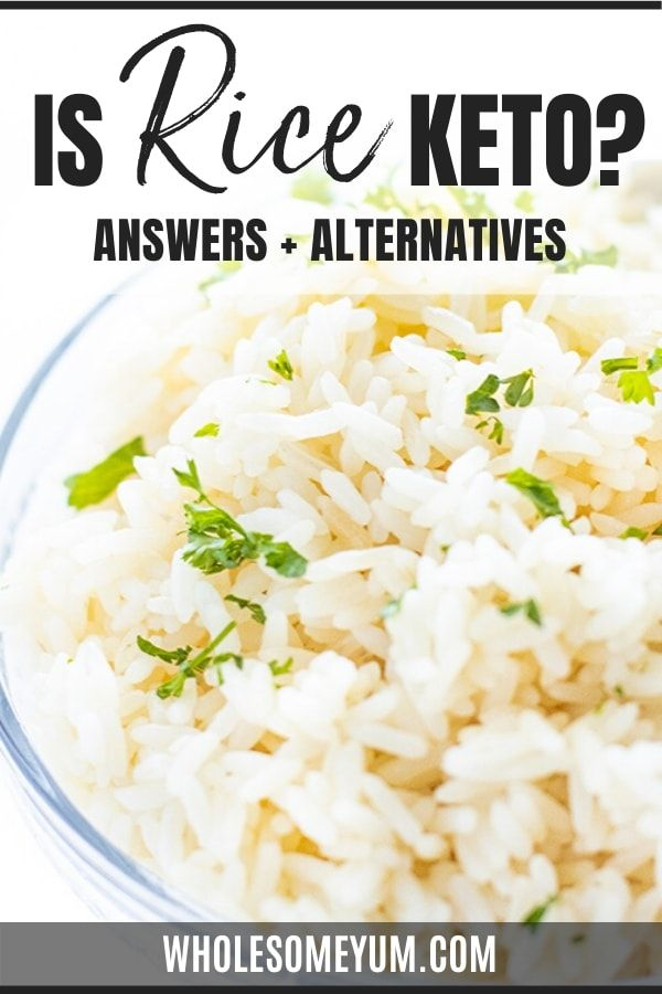 Is Rice Keto Friendly Rice Substitute Ketogenic Recipes Recipe With 10 Ingredients
