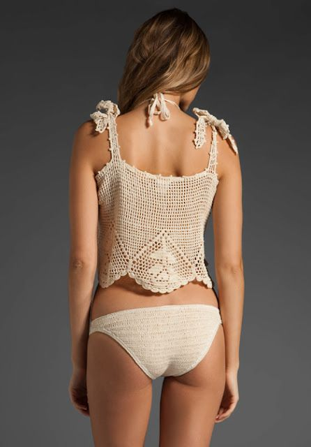 Crochetemoda: Tops