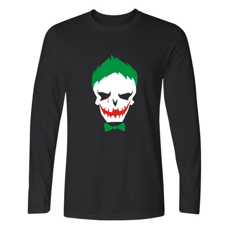 >> Click to Buy << Hot Sale Suicide Squad Joker T-shirt Men Casual Cotton Long Sleeve TShirts and Harley Quinn Men TShirt Funny in Band Tee Shirts #Affiliate