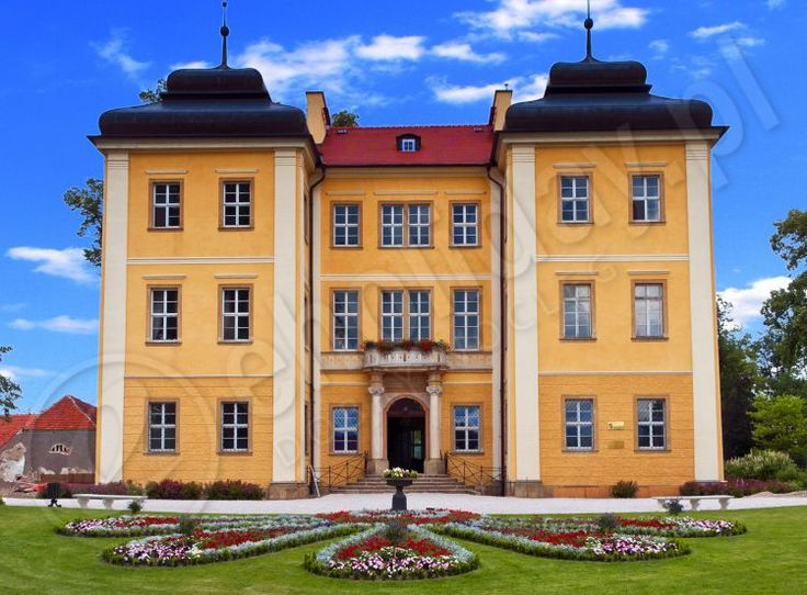 Palace Lomnica, Jelenia Gora, Lower Silesia, Poland.
