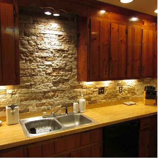 Kitchen Tiles From Tile Mountain: AirStone In Autumn Mountain Color