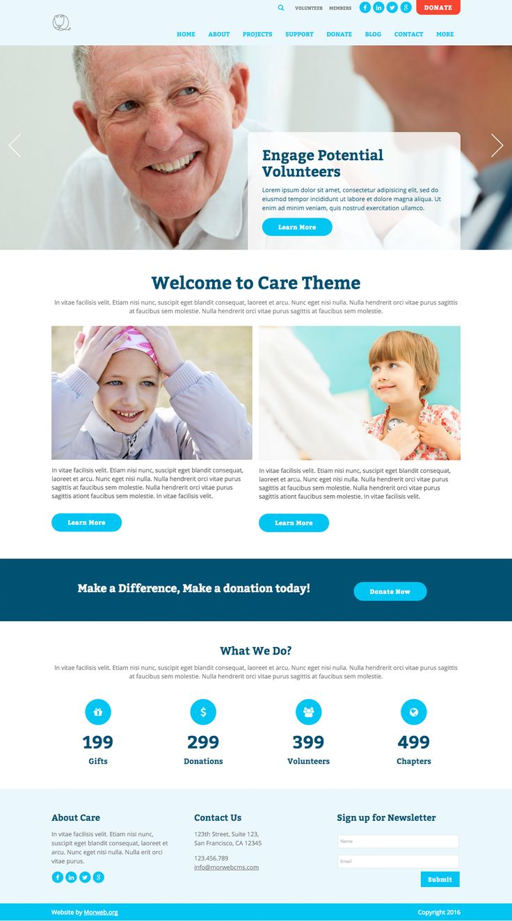 Care Theme - Morweb.org