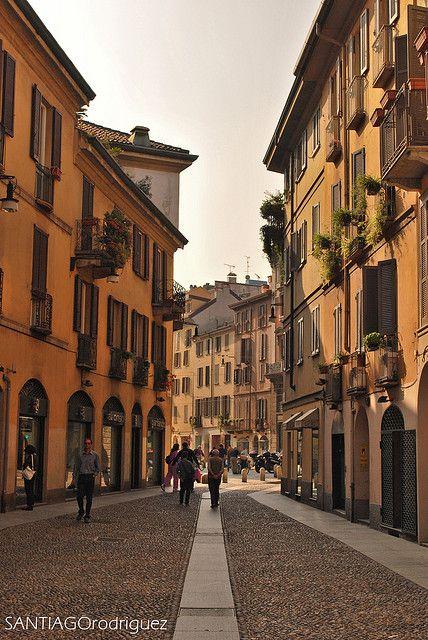 Beautiful Streets of Milano, Italy