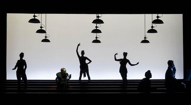 Berliner Ensemble in The Threepenny Opera (photo by Barbara Braun)