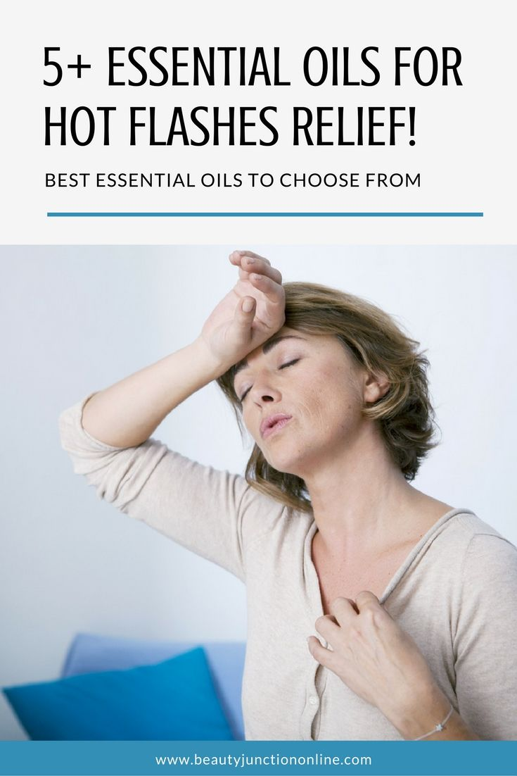 Discover the best essential oils for hot flashes relief!
