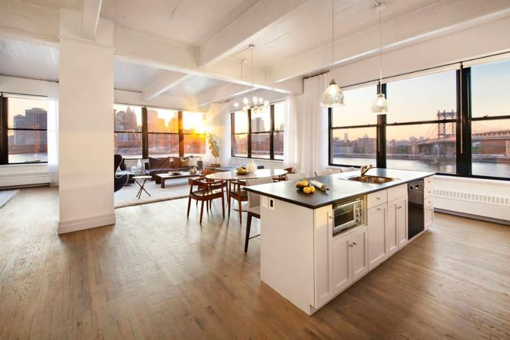 Source: IMDb Anne Hathaway's Brooklyn condo has 11-foot loft ceilings, views of the Brooklyn Bridge and Manhattan skyline, and a newly renovated home office. But Hathaway reportedly used the 2,592-square-foot apartment literally as a closet to store her clothes while she and her husband, Adam Shulman, lived in another unit in the building. When Hathaway listed the condo last fall, for $4.5 million, it looked kind of like a huge closet: empty rooms with beamed ceilings, hardwood floors, and…