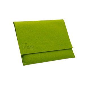 Custodia iPad green by Re Wrap