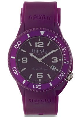 Quench your thirst for fashion this summer with Be Thirsty! The Be Sweet Plum watch from this French brand defines exquisiteness with its royal purple hue while it adds a tender juicy and sweet style to your wrist. #Namshi