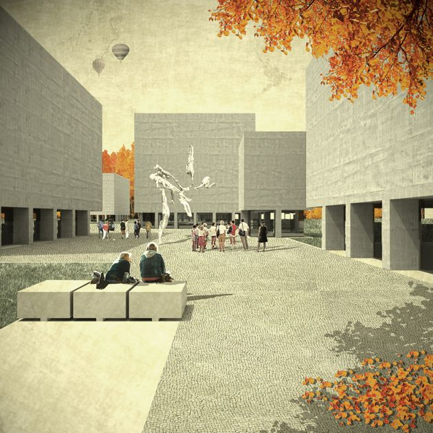 Sculpture Museum Expansion in Leganés | kooZarch