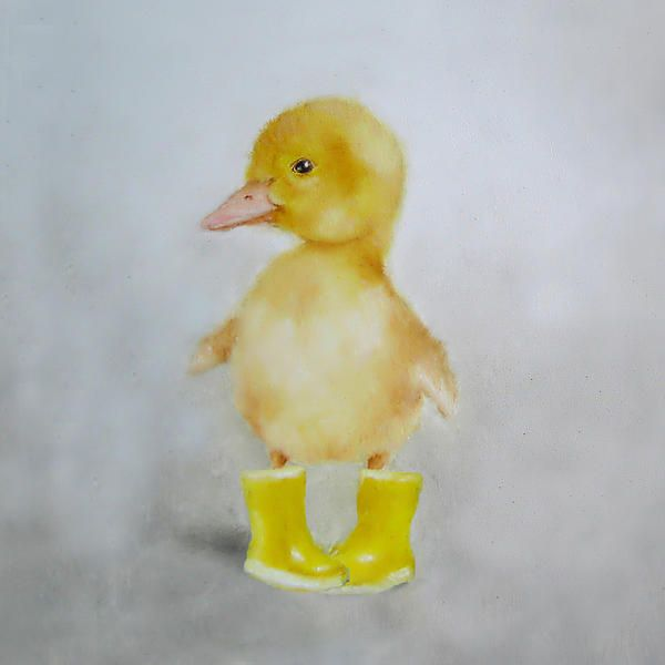 Whimsy Yellow Duckling in Yellow Boots by Nicki Nicki Gallery http://fineartamerica.com/featured/duck-nursery-art-junko-van-norman.html?newartwork=true