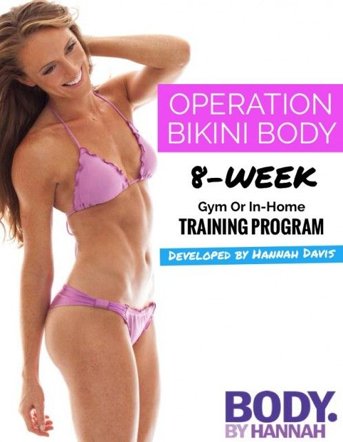 Operation Bikini Body e-Book Review By Hannah Davis - Will Hannah Davis' Bikini Body Work