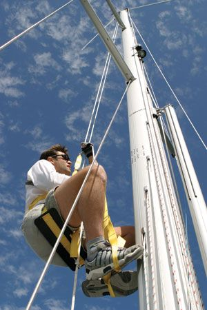 Gear for Climbing the Rig Solo   Sail Magazine