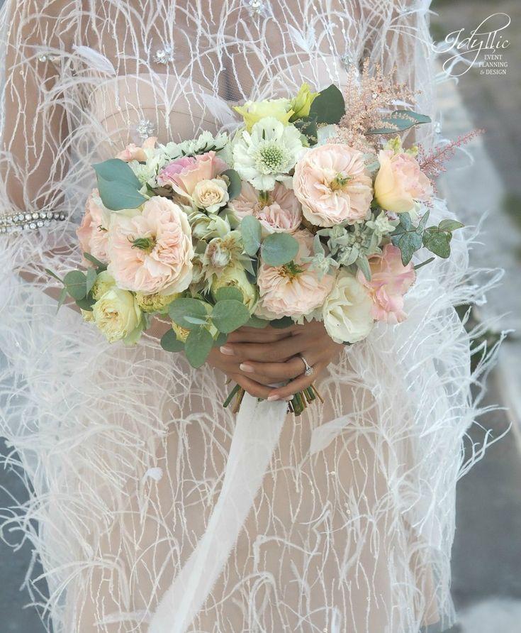 romantic bride bouquet | buchet mireasa by Idyllic #bride #bouquet #wedding #romania