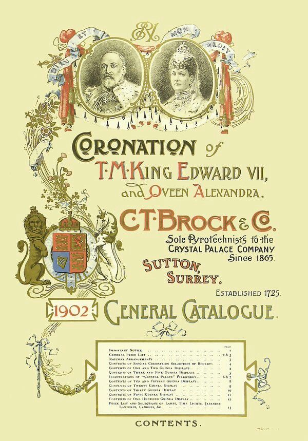The Great British fireworks industy 1902