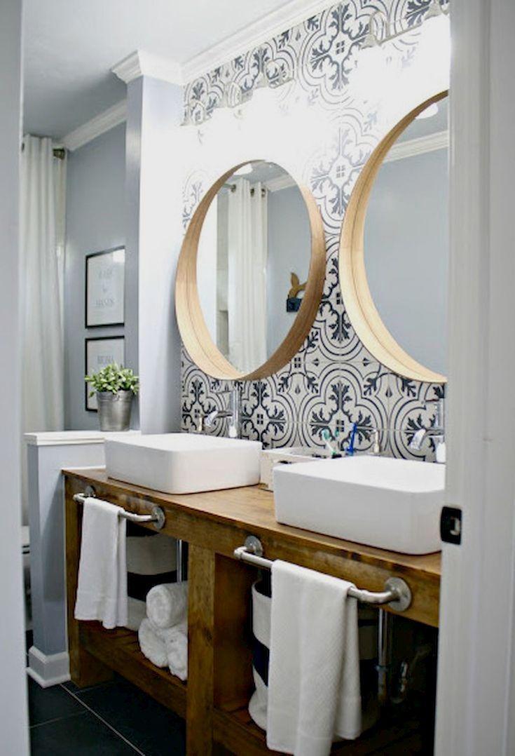 Möchten Sie Ihr Badezimmer in ein rustikales Landparadies verwandeln? Sie brauchen es nicht