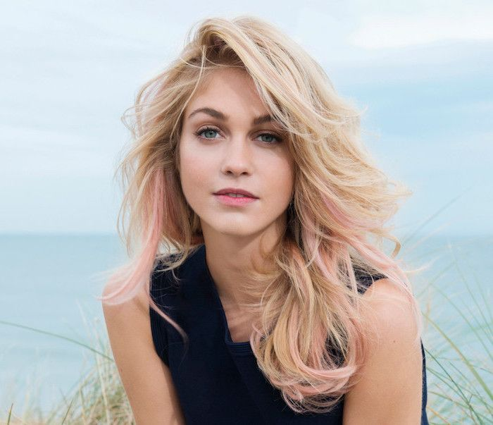 9 best coiffures images on pinterest hair cut hairdos and bob cut - Blonde yeux bleu ...