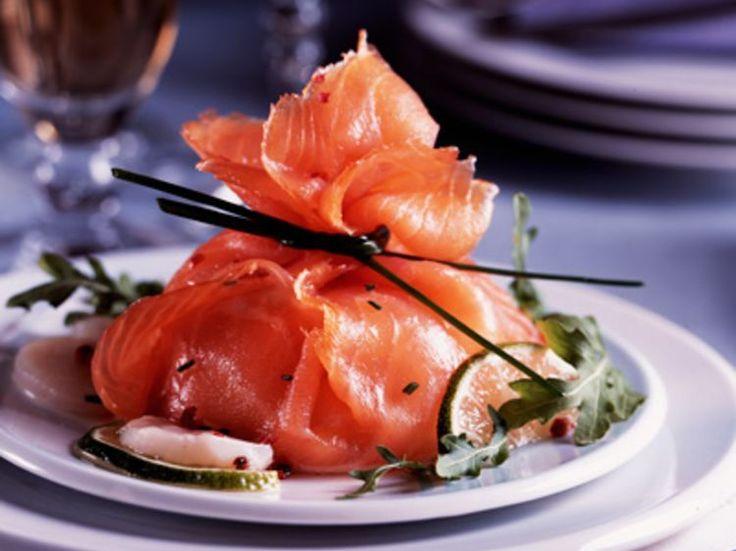 Découvrez la recette Aumônière de saumon aux coquilles Saint-Jacques sur cuisineactuelle.fr.