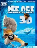Ice Age: Continental Drift 3D [3 Discs] [Includes Digital Copy] [3D] [Blu-ray/DVD] [Blu-ray/Blu-ray 3D/DVD] [2012]