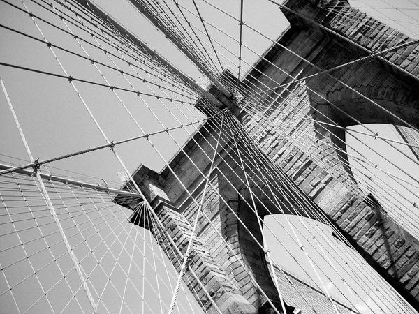 Brooklyn Bridge by squarepush.deviantart.com on @deviantART. My computer wallpaper