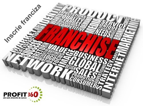 Profit360 va ajuta sa va extindeti reteaua de francizati, sa va gasiti noi parteneri de afaceri si, de ce nu, sa va promovati produsele si serviciile la nivel national si international. Contul de francizor este dedicat detinatorilor de afaceri in franciza (Master Franciza) care au dreptul sa revanda licenta de franciza prin subfrancizare si care cauta investitori/parteneri cu care sa extinda reteaua de franciza.