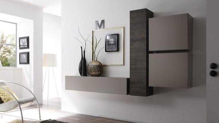 colonne de rangement horizontale suspendue linery meuble tv suspendu et mate. Black Bedroom Furniture Sets. Home Design Ideas