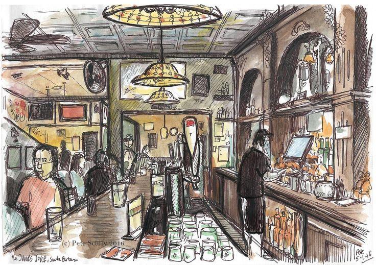 James Joyce pub, Santa Barbara | 출처: petescully