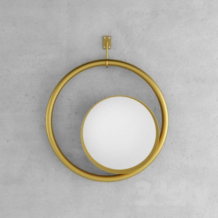 9 Sommertrends von Goldspiegel | GoldSpiegel, die genau wie die Sonne und den Mond zusammen, fast in Eclipse, sieht. | http://wohn-designtrend.de/ | #goldspiegel #wohnzimmerdesign #luxumobel #einzigartigspiegel