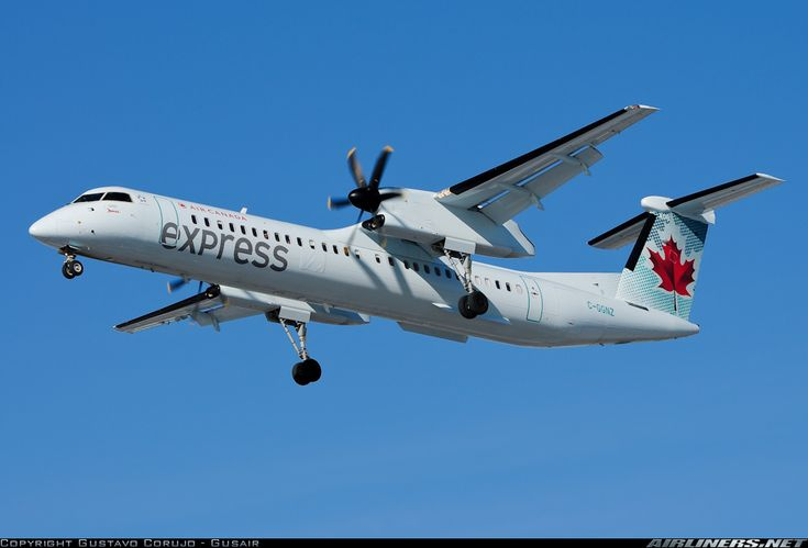 Air Canada Express (Jazz Air) C-GGNZ De Havilland Canada DHC-8-402Q Dash 8 aircraft picture