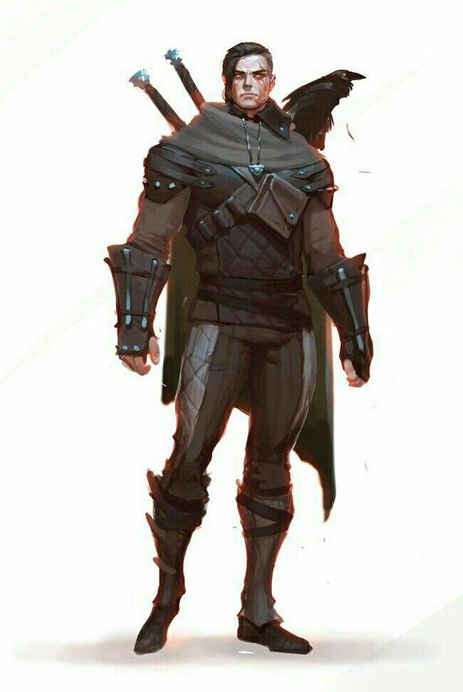 Eldritch Gaurdian Fighter - Pathfinder PFRPG DND D&D d20 fantasy
