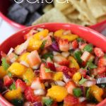 Strawberry Mango Salsa - Raining Hot Coupons