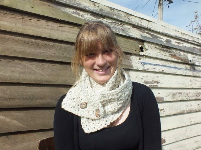 Star stich crochet scarf by RusticValley on Etsy, $40.00