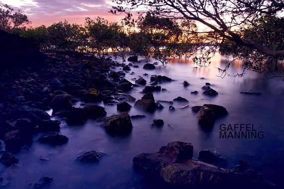 Landscape Photography // Sunset Rockpools Fine Art