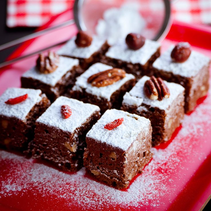 Découvrez la recette des brownies à la poudre d'amande