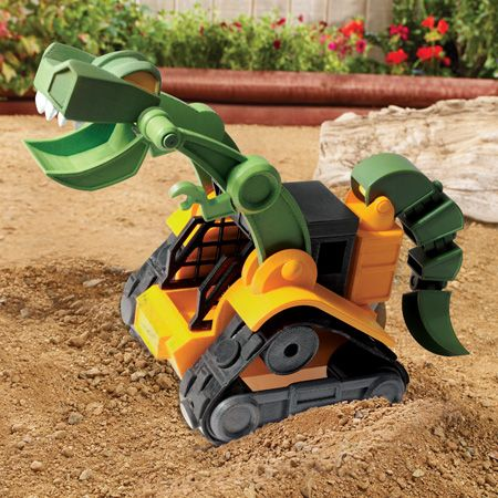 Dino Construction Company™—Wrecker the T-Rex Skid Loader ...