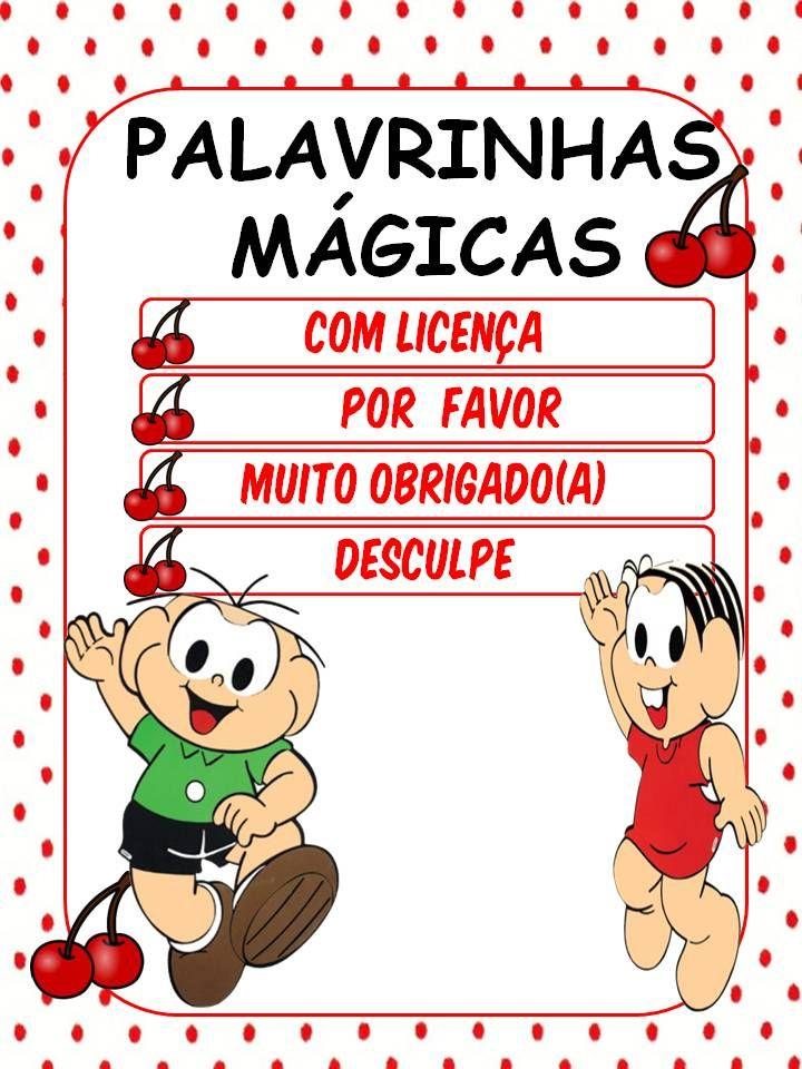 Famosos 23 best Palavrinhas Mágicas images on Pinterest | Kids education  HW31