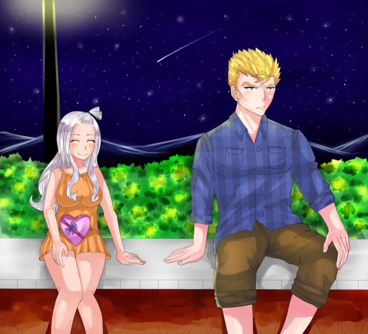 Mira X Laxus on FairyLove-Arts - DeviantArt