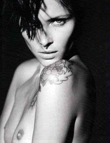 Татуированные модели / фото 2016