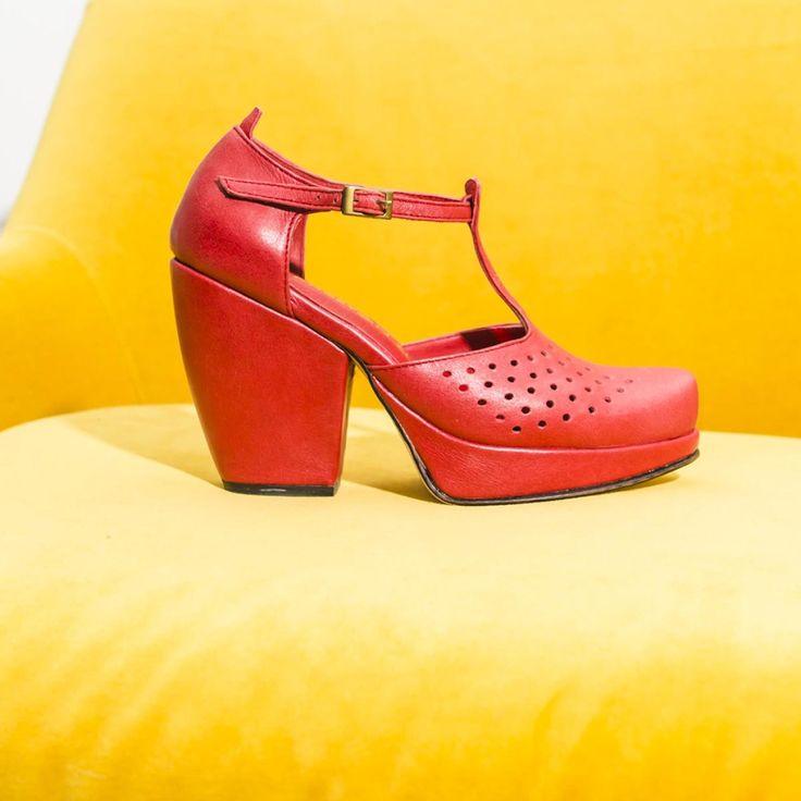 Be My Valentine Red Shoe? - Tru' Lavina