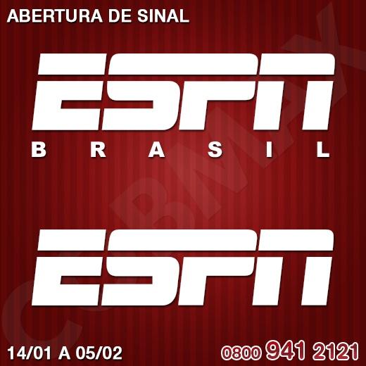 Novidade para os fãs do esporte. Os canais ESPN e ESPN Brasil estão com sinal aberto na Claro TV, de 14/01 a 05/02. Sintonize nos canais 45 e 46 para conferir o melhor do esporte no mundo. http://www.clarotv.br.com/