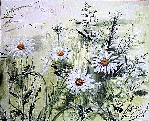V letnom objatí by Cecil - SAShE.sk - Handmade Obrazy