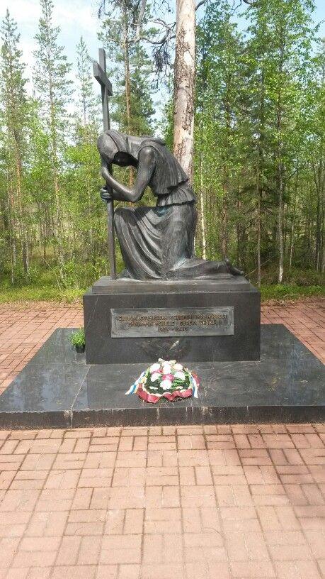 Raate, venäläine muistomerkki