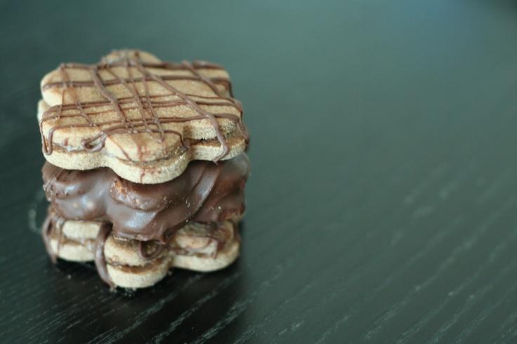 Crunchy Choc-Mint Cookies