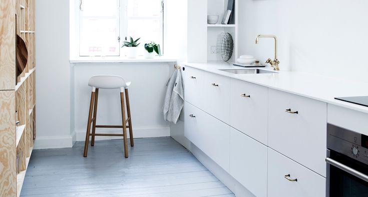 Hvidt køkken • Se eksempler på lækre hvide køkkener her »
