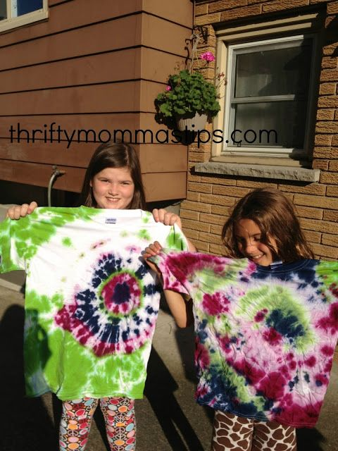 #DIY Tie Dye for kids.