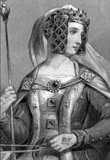 """Эдуард III (1312-1377,король с 1327) и его жена Филиппа Геннегау (1314-1369).У Эдуарда и Филиппы было 15 детей,в том числе 7 сыновей.К данной истории имеют отнош.трое из них:Эдуард, по прозвищу """"Черный Принц"""" (1330-1376), Джон Гонт, герцог Ланкастер (1340-1399) и Эдмунд Лэнгли,герцог Йорк (1341-1402)."""