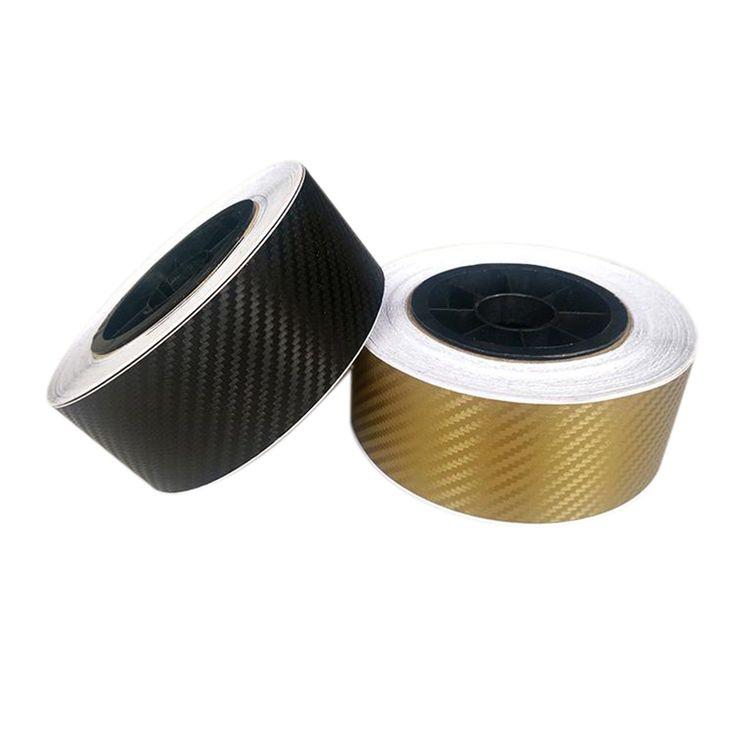 127cmx5cm Car Styling 3D 3M Carbon Fiber Sheet Wrap Film Vinyl Car Stickers And Decals Motorcycle Automobiles Car Accessories