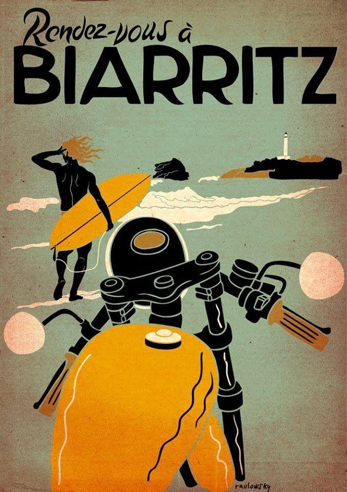 Nos vemos en Biarritz, ciudad y comuna del suroeste de Francia, situada en el departamento de Pirineos Atlánticos, en la región de Aquitania.