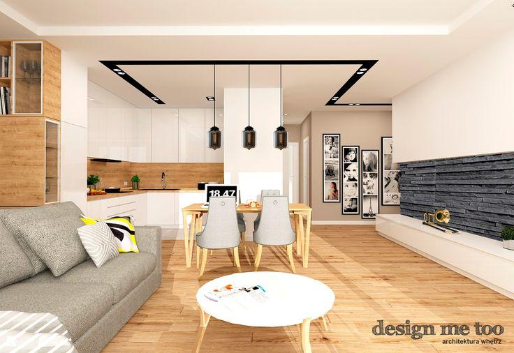 Salon styl Nowoczesny - zdjęcie od design me too - Salon - Styl Nowoczesny…