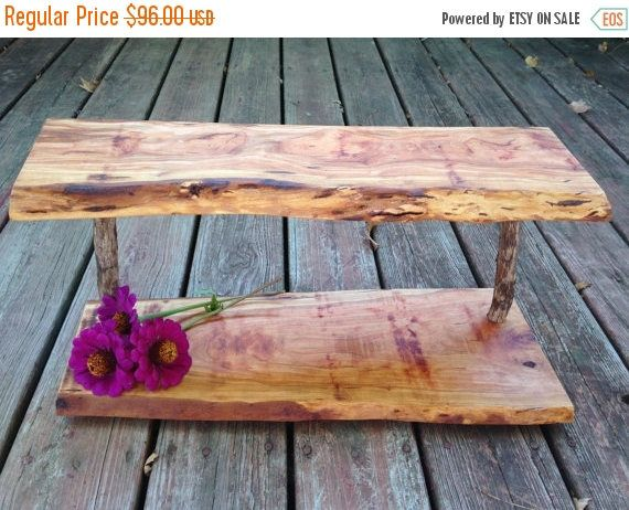 20% OFF Rustic Cupcake stand Tiered dessert display