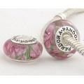 pandora glass bead charm